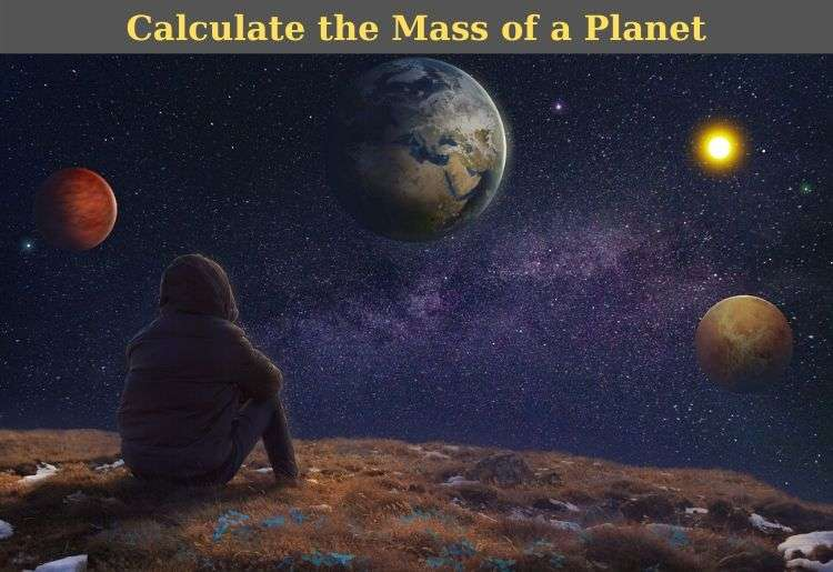 mass of a planet