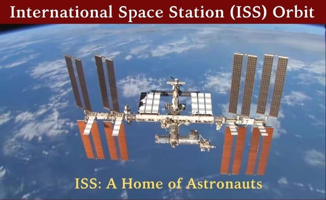 distance of ISS from the earth