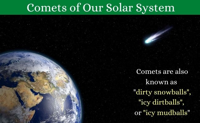 comets in solar system